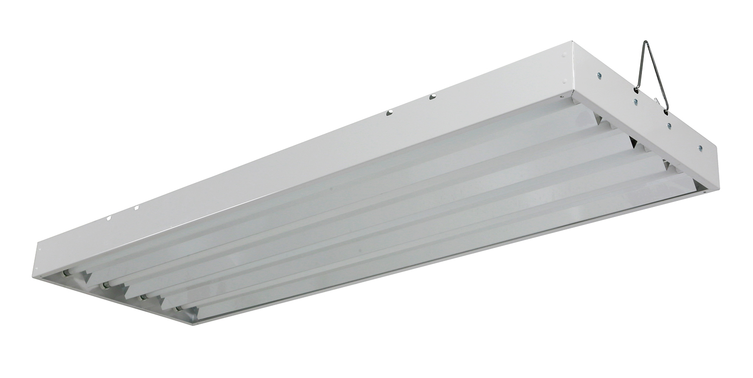 Solar Flare T5 HO Fluorescent Light Fixtures 44 – 4 ft 4 Lamp – 120 ...